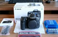 Canon EOS 80D DSLR Camera Body Brand New