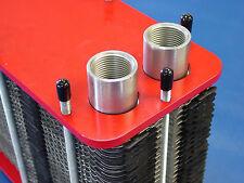 70kW Edelstahl Plattenwärmetauscher M3-54-20-A2 zerlegbar gedichtet geschraubt