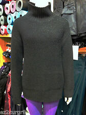 Lululemon Karma Kurmasana Sweater Heathered Black 6 10 12