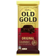 Cadbury Old Gold Original Dark Chocolate Block 180g
