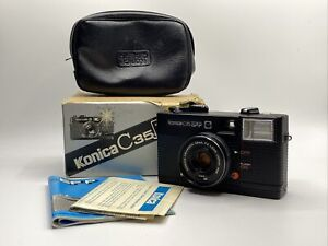 Konica C35 EF-P   Kompaktkamera  Kamera mit Hexanon 38mm F4 Optik #406565-58