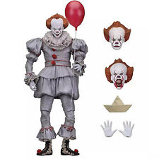 AU Stephen King's It Pennywise Clown Joker Hand Action Figure Figurines Toy Gift
