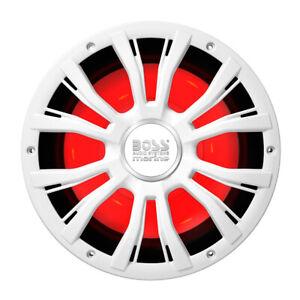 "Boss Audio MRGB10W Mrg10w 10"" Marine 800w Subwoofer W/multicolor Lighting -"