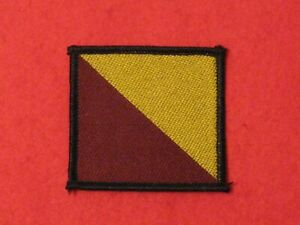 BRITISH ARMY RRF ROYAL REGIMENT OF FUSILIERS TRF BADGE NEW 107 LARGE
