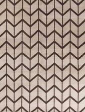 Geometric Quilt Ivory Trellis Oriental Large Area Rug Wool Hand-made Carpet 9x12
