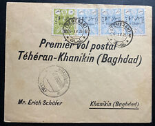 1925 Persanes Early Airmail First Flight Cover FFC To Khanikin