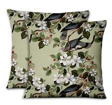 S4Sassy Floral & Designer Bed Room Pillow Cases Cushion Cover 2Pcs-BRD-13D