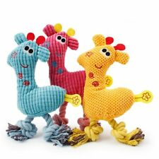Toys Squeaking Dog Toy Plush Puppy Giraffe For Dogs Pet Chew Squeaker Squeaky