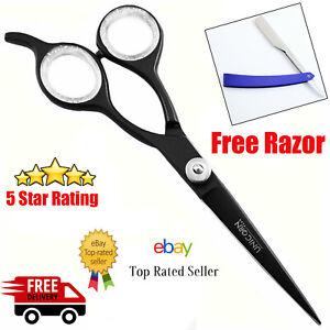 BEST Professional Hairdressing Scissors Barber Hair Cutting Razor Sharp blades