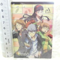 *SH1076 Japan Anime Shitajiki Plastic Sheet Persona4 P4