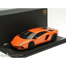 Lamborghini Aventador S Arancio Argos MR COLLECTION 1/18 #LAMBO027C