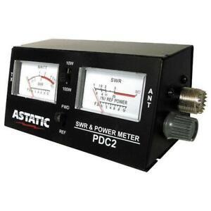 Astatic PDC2 SWR / Power / Field Strength Meter