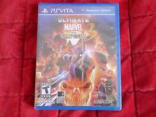 Totalmente nuevo y sellado de fábrica Playstation PS Vita NTSC Ultimate Marvel vs Capcom 3