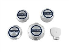 Shelby Logo 5 Piece Engine Cap Set Fits 2018 Ford Mustang GT & 15-18 Ecoboost