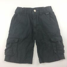Boys size 0-1, Esprit, cotton cargo shorts, adjustable waist, 12 months, FUC