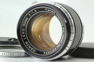 [Almost MINT] Canon 50mm f/1.8 Lens LTM L39 Leica Screw Mount From JAPAN