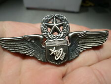 Command Astronaut Pilot Wings Badge NASA Full size three inches Vietnam Era US
