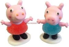 PEPPA PIG GEORGE PIG glassa JELLY Sweet Compleanno Torta Cupcake Topper Decorazioni