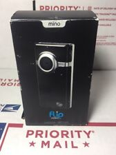 NEW -Mino Flip Video Camera Camcorder 2GB Records 60 Mins 1st GEN F360B-WARRANTY