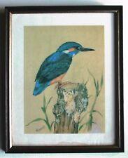 """Malcolm Greensmith - Vintage Framed Print """"The Kingfisher"""" - Framed & Glazed"""