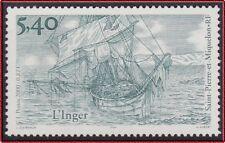 SAINT PIERRE ET MIQUELON N°723** Bateau, Voilier 2000 SPM boat Sailing ship MNH