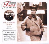 """DIE GROSSEN DEUTSCHEN TANZORCHESTER """"Die Goldene Sieben"""" Vol. 2  CD NEU & OVP"""