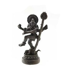 SHIVA RUDRA 4 Arms Hindu OM God Deity Thai Amulet  B79