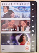 Two Weeks Notice / Music And Lyrics / Miss Congeniality ~ UK Triple Bill DVD