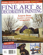 MAGAZINE -   FINE ART & DECORATIVE PAINTING VOL 20 NO. 7