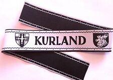 Bande de bras Ärmelband tissée BeVo commemorative KURLAND - Repro