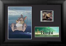 Film Cell Genuine 35mm Framed Matted Walt Disney Bambi Thumper Special USFC5847