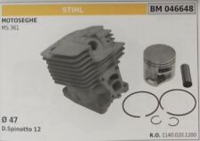 11400201200 Cylinder and Piston Complete Stihl Chainsaw Ms 361 Ø 47