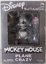 "6"" MICKEY MOUSE PLANE CRAZY VINYL. DISNEY COLLECTIBLE DOLLS. MEDICOM TOY 2002"