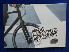 Grecos Programme 2018 E-Bike Pedelec Bicycles Trekking Kids - Prospectus