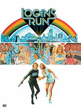 Logan's Run (DVD) Michael York, Jenny Agutter, Richard Jordan, Peter Ustinov