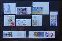 France 1992 Gypsies Indo China 1993 Telegraph Womens Rights Aids Day etc MNH