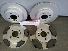 MINI ONE, COOPER 1.4 1.6 FRONT & REAR BRAKE DISCS & PADS 2006-2015 R55 R56 R57