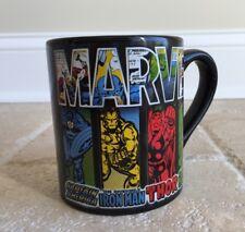 Marvel Adventures Comics Coffee Mug Cup Captain America Iron Man Thor Hulk 14 oz