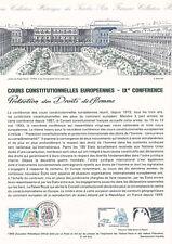 Document philatélique 43-93 1er jour 1993 Protection des Droits de l'Homme