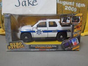 NIB ARIZONA DEPARTMENT OF PUBLIC SAFETY 2010 CHEVY TAHOE POLICE SUV 1/32 JADA