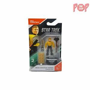 Mega Construx Heroes - Star Trek - Captain Kirk