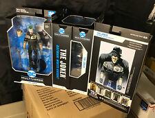 """McFarlane DC Multiverse  JOKER WHITE KNIGHT  7"""" Action Figure Window Box IN-STK"""