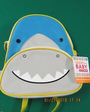 Skip Hop Kid Backpack Shark New NWT Bag Giggle Baby Toddler Preschool Blue Boy