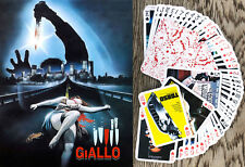 Playing Cards (Poker Deck 54 Cards) GIALLO Vintage Horror Movie FlonzGift 009
