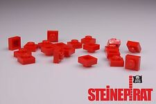 LEGO® 20x 3024 ***NEU*** Platte 1x1 / Platten / Steine / Basic / rot / 302421