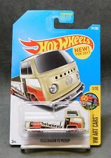 2017 Hot Wheels Car 201/365 Volkswagen T2 Pickup - J Case