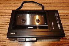 Sanyo Diktiergerät TCR 2450 Cassette mit Lautsprecher (171) für 10cm MC Cassette