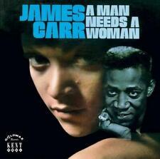 JAMES CARR A Man Needs A Woman NEW & SEALED  SOUTHERN SOUL LP VINYL  (KENT) R&B