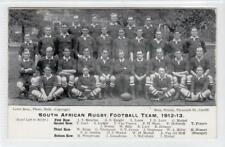 SOUTH AFRICAN RUGBY FOOTBALL TEAM, 1912-13: Rugby Football postcard (C34647)