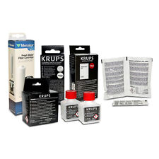 Krups Coffee Machine Care Kit - F054 - XS9000 - XS3000 + Menalux Water Filter